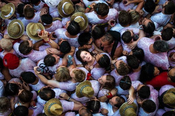 Lễ hội đua với bò tót ở Pamplona, Tây Ban Nha
